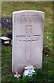 TQ5493 : St Thomas, Church Lane, Noak Hill, Havering - Gravestone by John Salmon