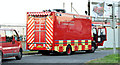 J3775 : Fire Brigade command support vehicle , Belfast (September  2014) by Albert Bridge