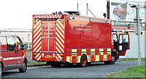J3775 : Fire Brigade command support vehicle , Belfast (September  2014) by Albert Bridge