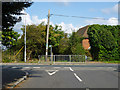 TQ0282 : Start of footpath to Church Road, Iver Heath by Robin Webster