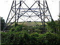 SX0267 : Power lines heading south by Rob Purvis