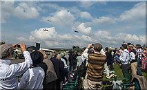 SU8707 : Goodwood Revival 2014 - Battle of Britain Memorial Flight by Christine Matthews