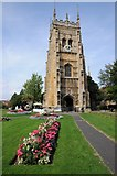 SP0343 : Abbey Tower, Evesham by Philip Halling