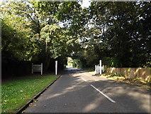 TM3863 : Entering Kelsale Cum Carlton on the B1121 North Entrance by Geographer