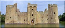TQ7825 : Bodiam Castle, Back Door by Len Williams