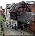 SJ4912 : Bookshop window shopping in Fish Street, Shrewsbury by Jaggery