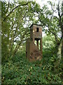 TF1001 : Vandalised observation tower north of Upton by Richard Humphrey