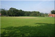NZ8607 : Sleights cricket ground by Bill Boaden