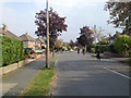SP1378 : Biking home from school, Kingslea Road, Shirley by Robin Stott
