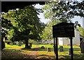ST1443 : Churchyard, Kilve by Derek Harper
