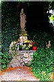 SP1479 : Lourdes grotto by Tiger