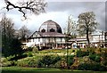 SK0573 : Buxton Pavilion in 1990 by Des Blenkinsopp