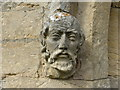TF0836 : St. Peter ad Vincula, Head of St Peter by Bob Harvey