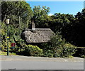 SS7249 : Thatched roof in Lynton by Jaggery