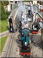 SY2289 : Station, Pecorama, Beer, Devon by Christine Matthews