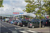 TL3763 : Tesco Extra Bar Hill by Stephen McKay