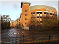 SP1479 : Multistorey car park, Herbert Road, Solihull by Robin Stott