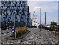TQ3979 : Cutter Lane, North Greenwich by Ian Taylor
