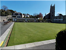 ST4071 : Clevedon Bowling Club by Jaggery