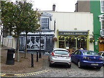 W7966 : Market House shop, Cobh by Kenneth  Allen