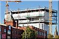"J3374 : Block ""B"", University of Ulster site, Belfast - September 2014(4) by Albert Bridge"