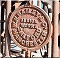 J3474 : Albion Foundry turnstiles, Belfast - September 2014(2) by Albert Bridge