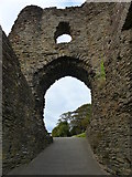 SX3384 : Entrance to Launceston Castle by Ruth Sharville