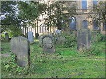 NZ2564 : All Saints Church, Pilgrim Street - churchyard (2) by Mike Quinn
