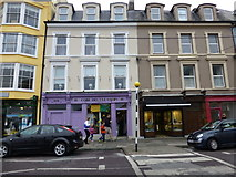 W7966 : Cobh Dry Cleaners by Kenneth  Allen
