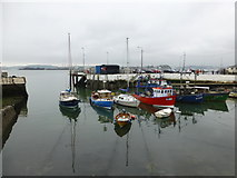 W7966 : Cobh harbour by Kenneth  Allen