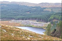 NM9210 : Lochan a' Bhruic by Patrick Mackie