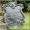 J2462 : Edward T Fitzpatrick grave marker, Blaris Old Burial Ground, Lisburn by Albert Bridge