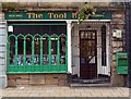 SD9951 : Decorative shop front, Skipton by Julian Osley