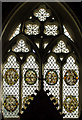 TF1294 : East Window, St Peter's church, Normanby le Wold by J.Hannan-Briggs