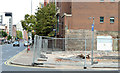 J3373 : Gt Victoria Street Baptist church, Belfast (site of) - September 2014(2) by Albert Bridge