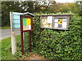 TM2687 : All Saints Church & Alburgh Village Notice Boards by Adrian Cable
