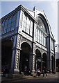 TQ3280 : Re-sited portico, Borough Market by Ian Taylor