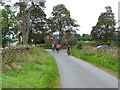 NY5837 : Cyclists on the C2C near Maughanby by Oliver Dixon