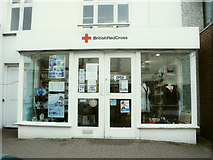 SS2006 : British Red Cross charity shop, 14 Queen Street, Bude by Roger A Smith