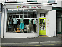 SS2006 : Cornwall Hospice Care charity shop, 33 Queen Street, Bude by Roger A Smith