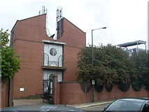 TQ2284 : Willesden Telephone Exchange (2) by David Hillas