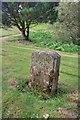 NZ6519 : Milepost by Mick Garratt