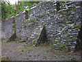 SD1988 : Duddon Iron Furnace - the later charcoal store by Karl and Ali
