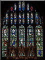 TQ5529 : East Window, St Denys church, Rotherfield by Julian P Guffogg