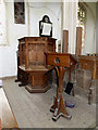 TM2291 : Pulpit & Lectern of St.Mary's Church by Adrian Cable