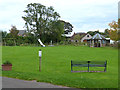NY6234 : Recreation ground at Ousby by Oliver Dixon