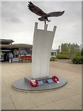 SK1814 : National Memorial Arboretum, Berlin Airlift Memorial by David Dixon