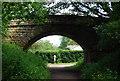 TQ4736 : B2026 Bridge, Forest Way by N Chadwick