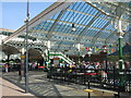 NZ3669 : Tynemouth Metro station - east side by Mike Quinn