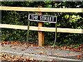 TM2384 : The Street sign by Geographer